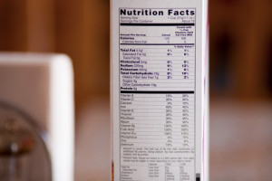 etiqueta, producto, azúcar