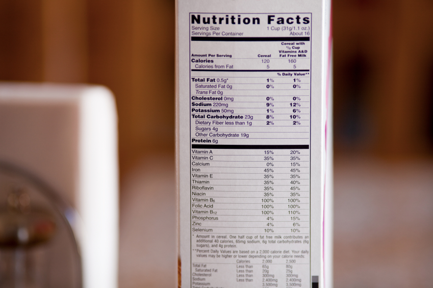 etiquetas, productos, azúcar